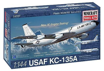 Minicraft Model Kits Boeing Stratotanker Model Kit (1/144 Scale)