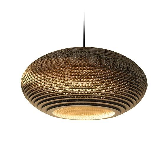 Graypants GP-142 - Lámpara de techo colgante (cartón, 60 W ...