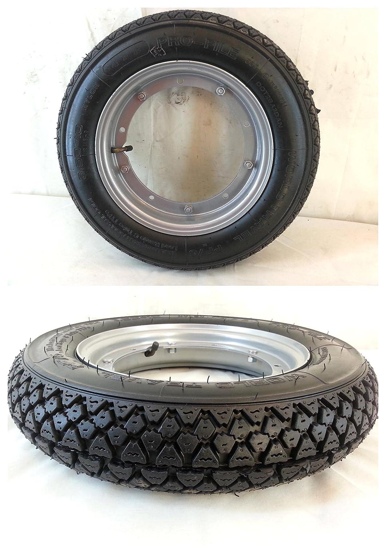 Complete Wheel Iron 3.50-10 56 J Pro-File for Piaggio Vespa PX 125/150/200 cc RMS
