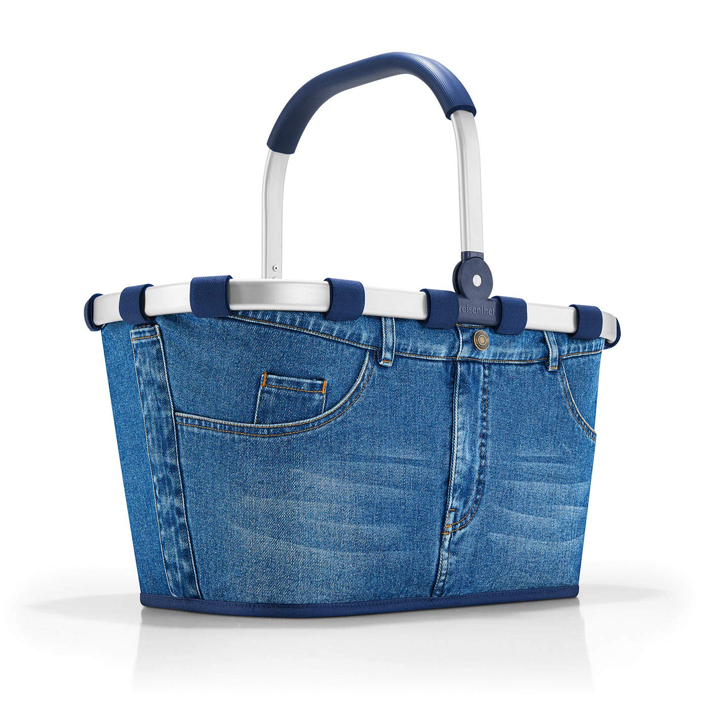Reisenthel carrybag Jeans Sporttasche, 48 cm, 22 L, Blau BK4063