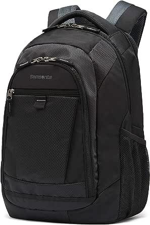 "Samsonite Tectonic 2 SPL 15.6"" Laptop Backpack, Tablet Pocket, Padded Handle, Black"