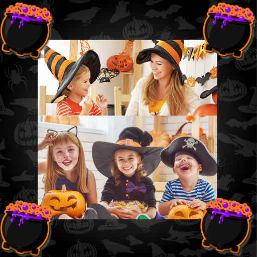 Halloween Photo Collage ()