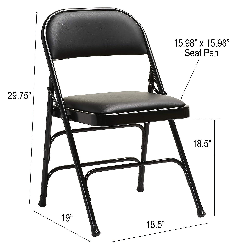 Fantastic Samsonite Furniture 49752 1050 2800 Series Folding Chairs 40 Black Frankydiablos Diy Chair Ideas Frankydiabloscom