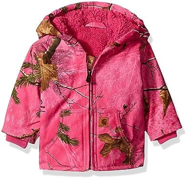 0707fff2c Carhartt Toddler Girls  Redwood Jacket Sherpa Lined