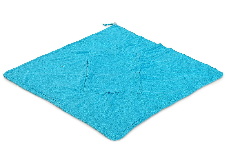HOPPEDIZ/® Einschlagdecke NATUR aus Baumwoll-Frottee f/ür 3 /& 5 Punkt Gurtsysteme GOTS