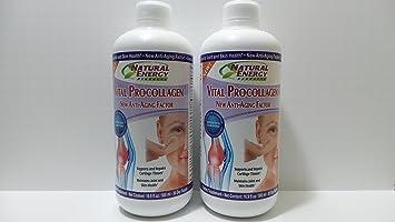 PAC 2 X 16 Oz Vital Procollagen Liquid Anti-aging Factor Pro Colageno Piña colada