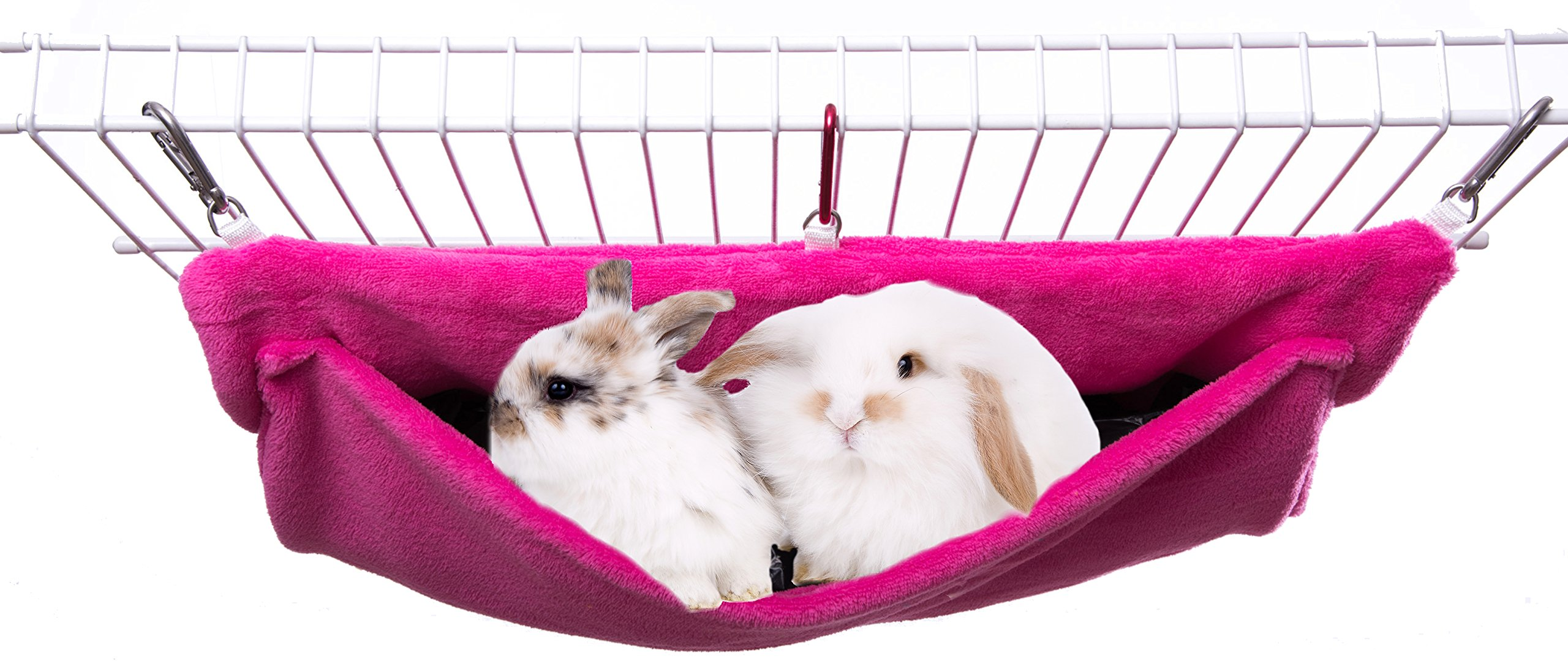 Avianweb Ferret or Bunny Pocket Hammock - Made in The USA (Rose)