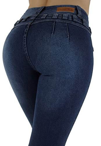 Style M1213– Colombian Design, High Waist, Butt Lift, Levanta Cola, Skinny Jeans