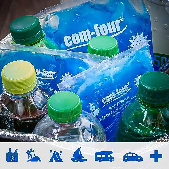 com-four® 5X Compresas múltiples, compresas frías y Calientes, 13 ...