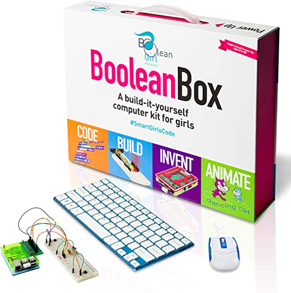Boolean Box Build a Computer Science Kit for Kids | Includes Electronics