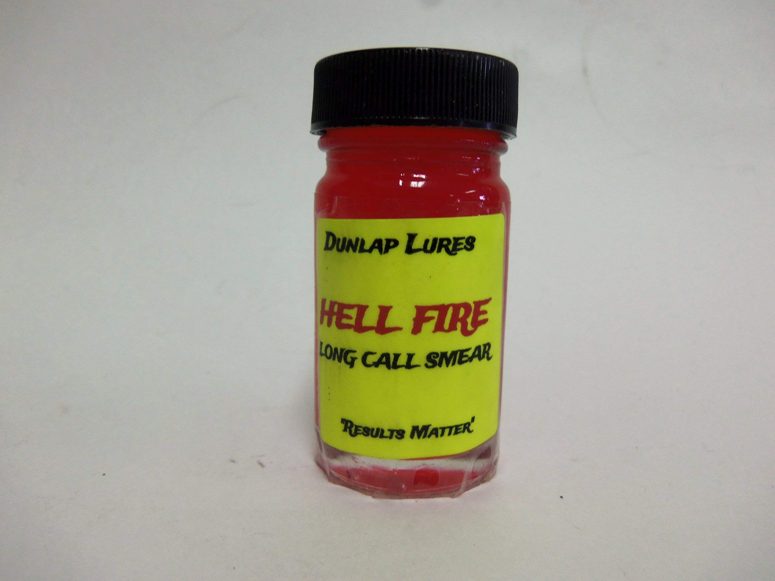 Dunlap's Hellfire Long Call Smear Lure (1 oz.) by Dunlap Lures (Image #1)