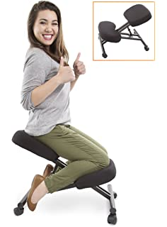 amazon com the edge desk system ergonomic adjustable kneeling desk