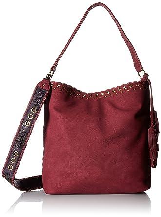 4fbc996fb3 Amazon.com: STEVEN by Steve Madden Madaxx Shoulder Handbag,Berry: Clothing