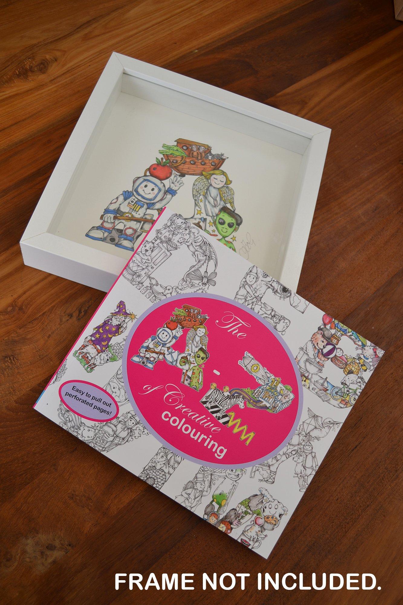 The A Z of Creative Colouring Colouring Book Amazon Kelly