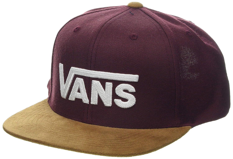 Vans_Apparel Drop V II Snapback Gorra de béisbol, Rojo (Port ...