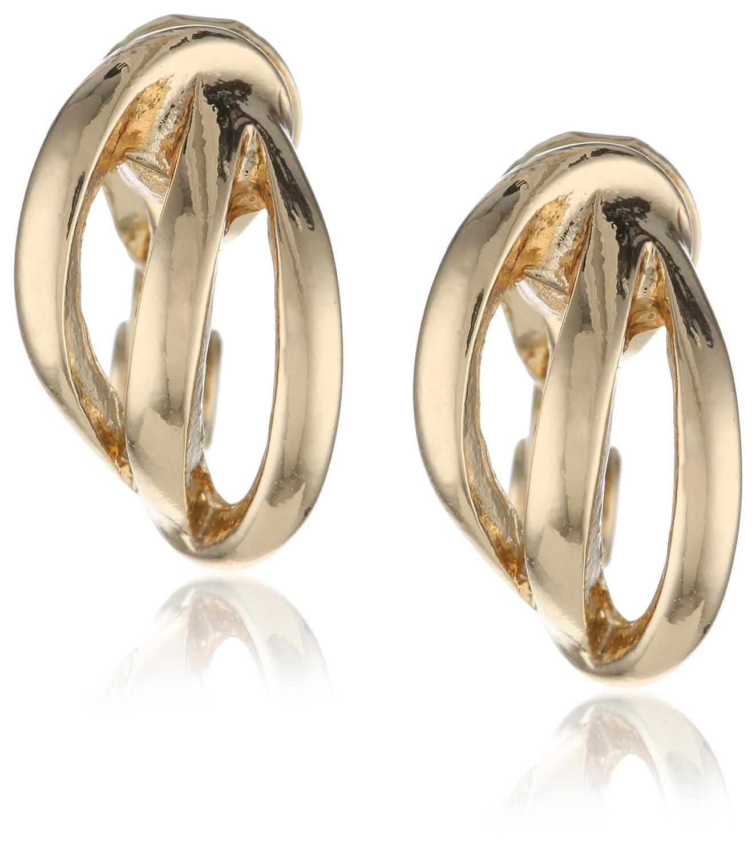 NapierNapier Classics Gold-Tone Comfort Twisted Clip Hoops 79941927-887