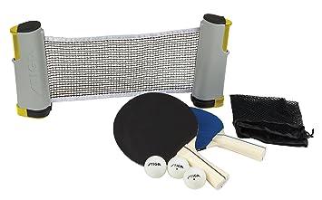 Amazon.com  STIGA Retractable Anywhere Table Tennis Set  Table Tennis Sets  Sports \u0026 Outdoors  sc 1 st  Amazon.com & Amazon.com : STIGA Retractable Anywhere Table Tennis Set : Table ...