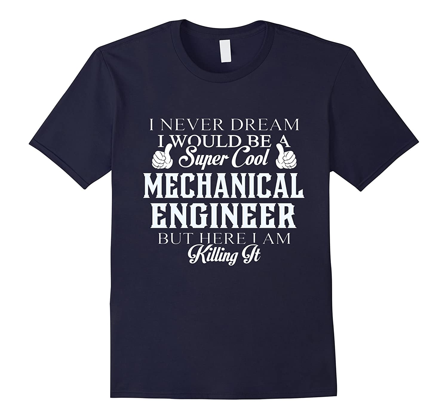 Dreamed would be super cool Mechanical engineer killing it-Vaci