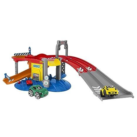 Chicco Turbo Team Stop&Go - Garaje con 2 Coches y 4 Modos de Juego