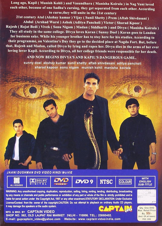 Jaani Dushman Hindi Film Songs Free Download