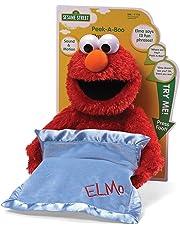 Sesame St -  Peek-A-Boo ElmoStuffed Plush Toy,38 x 30 x 22cm