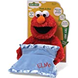 "GUND Sesame Street Peek A Boo Elmo Animated 15"" Plush"