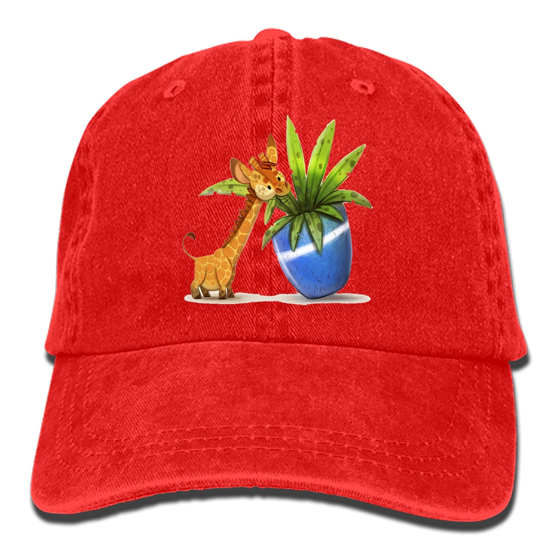SHUANGRENDE Doggo Adjustable Casual Cool Baseball Cap Retro Cowboy Hat Cotton Dyed Caps