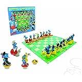 Plastoy 69002 - Set scacchi dei puffi