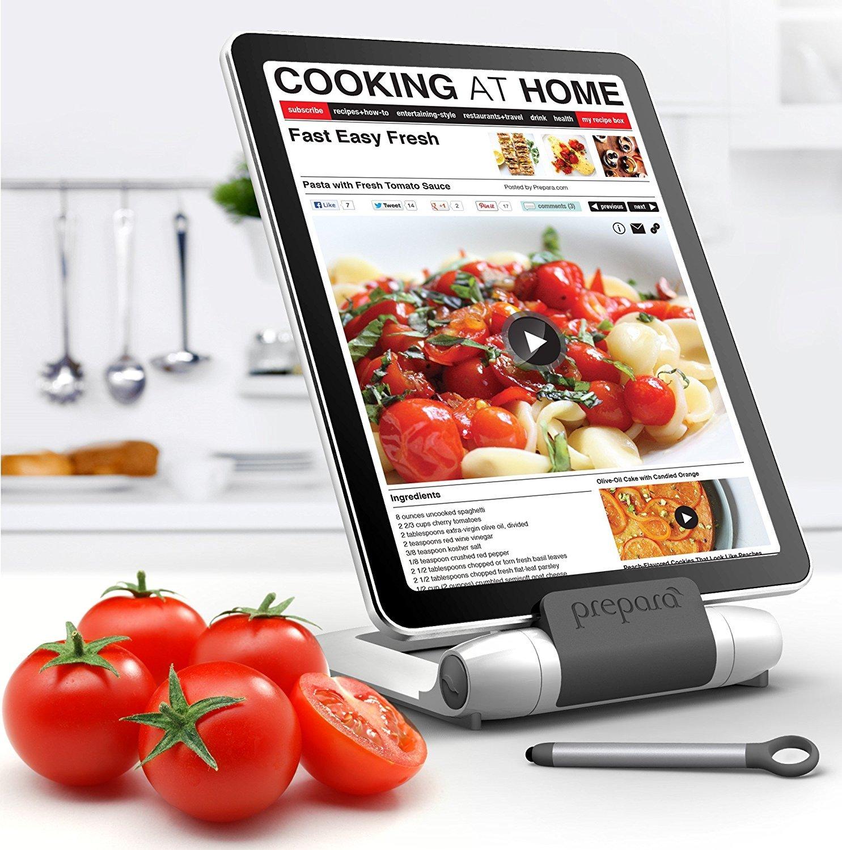 Kunststoff 25x25x8 cm Prepara Tablet-Halter Iprep in wei/ß