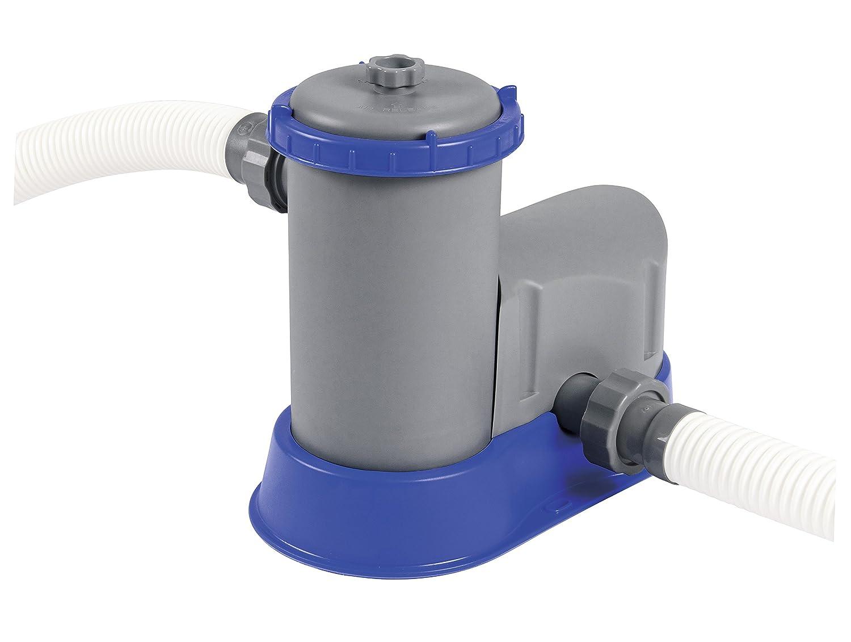 cartouche type III Bestway Pompe de filtration pour piscine hors sol capacit/é 5678 litres // heure 145 W