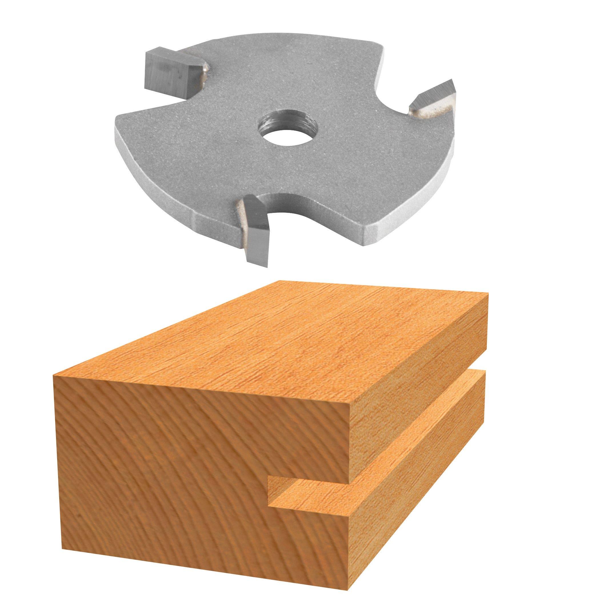 Bosch 85609M 3/16 In. Carbide Tipped 3-Wing Slotting Cutter Bit