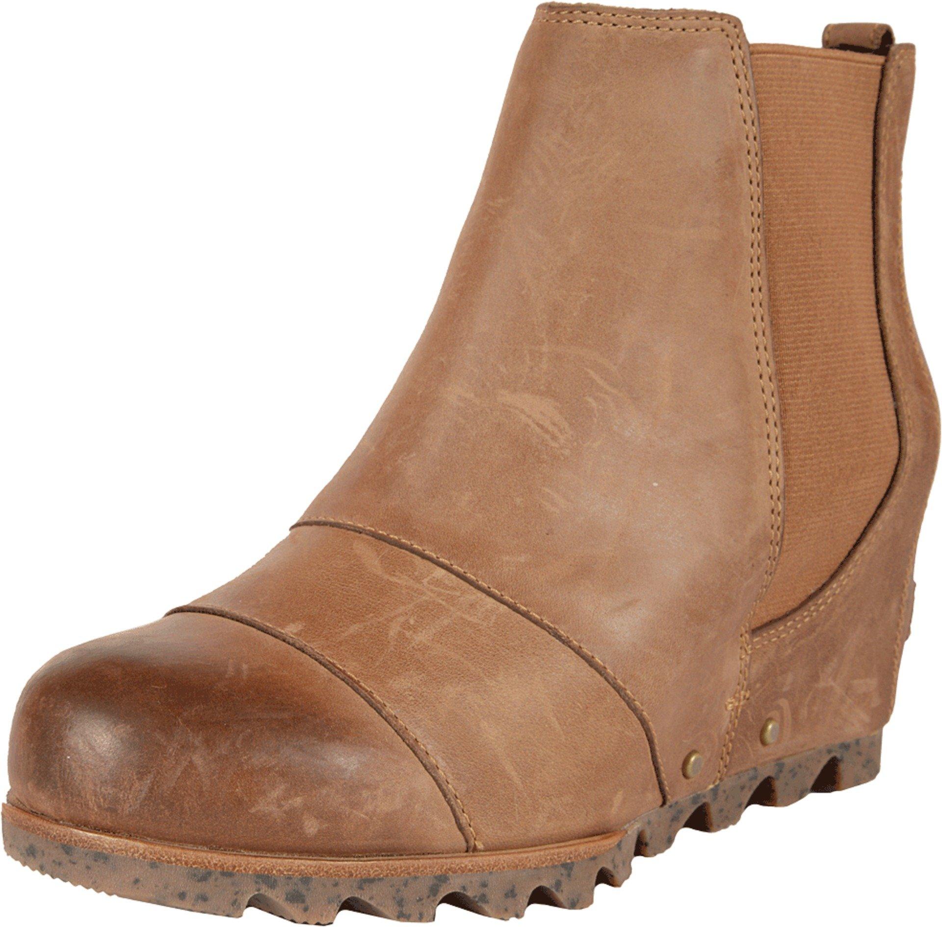 Sorel Women's Lea Wedge Booties, Elk, 8 B(M) US