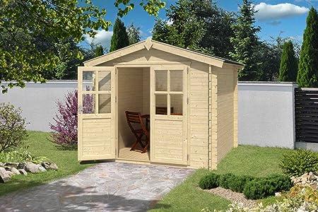 Jardín Casa G185 – 28 mm listones hogar, superficie: 5,30 m², tejado: Amazon.es: Bricolaje y herramientas