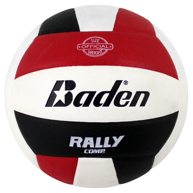 Baden Rally Compゲームバレーボール B004UJHJ06 レッド/ホワイト/ブラック