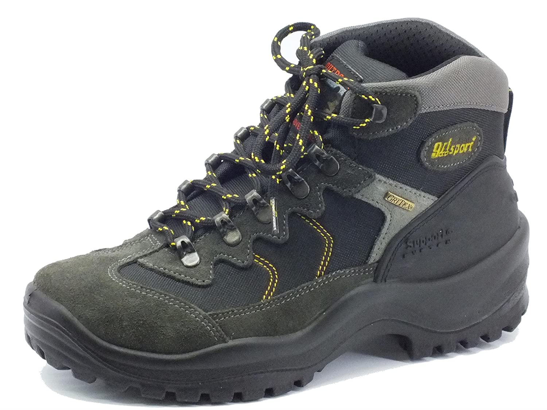 Grisport Scarponcini da Trekking per Uomo camoscio Grigio 1847575499a