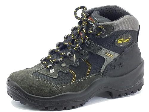 648a21094d3731 Grisport Scarponcini da Trekking per Uomo camoscio Grigio: Amazon.it:  Scarpe e borse
