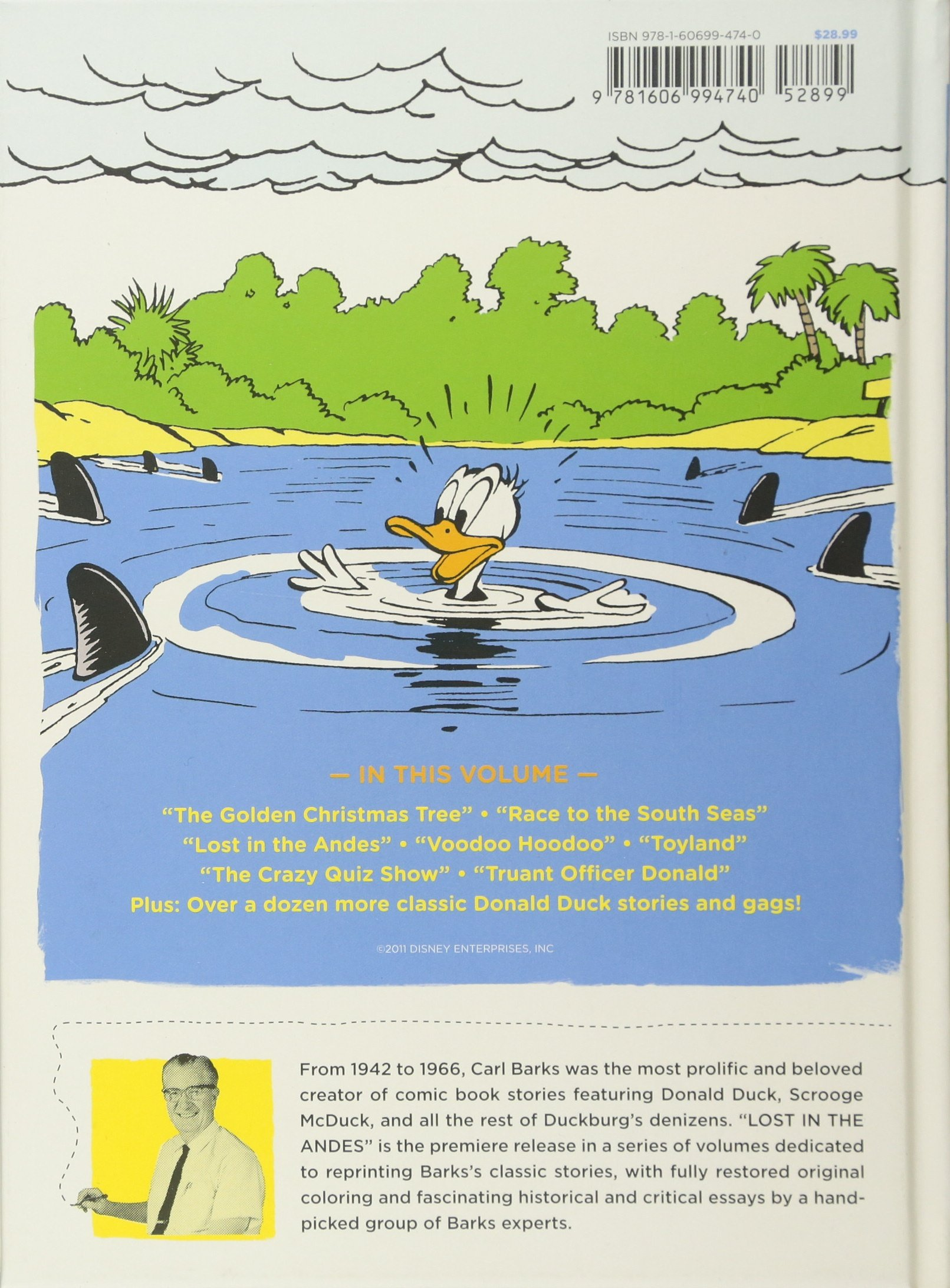 WALT DISNEYS DONALD DUCK LOST IN THE ANDES Amazonde Gary