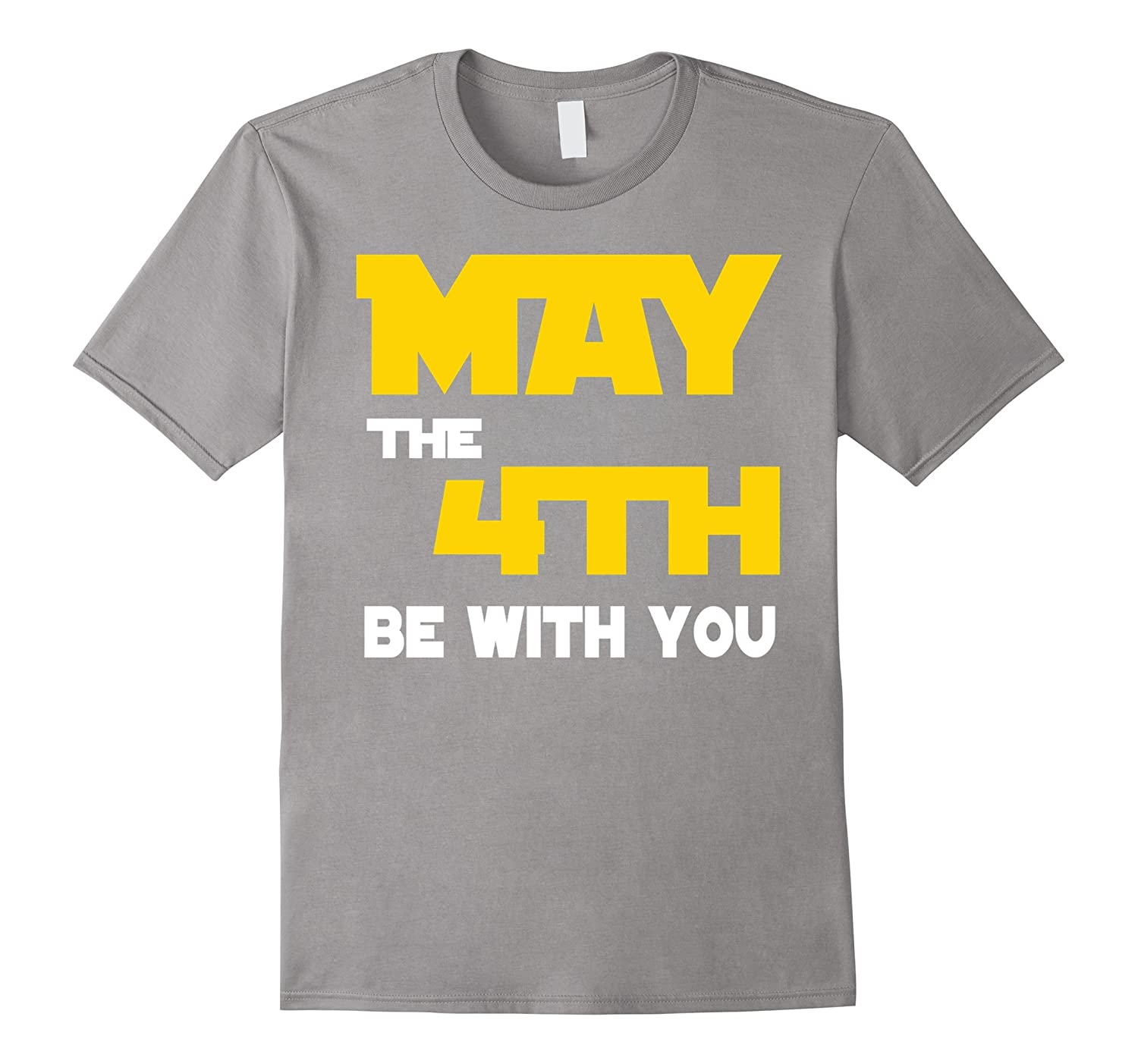 Cool 4th of May be with you Funny T-shirt-Vaci