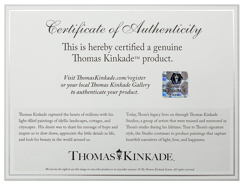 Thomas Kinkade Studios Minnie Rocks The Dots on Rodeo Drive 5 x 7 Brushwork Gold Frame