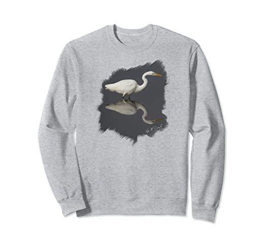 Egret Reflection Sweatshirt