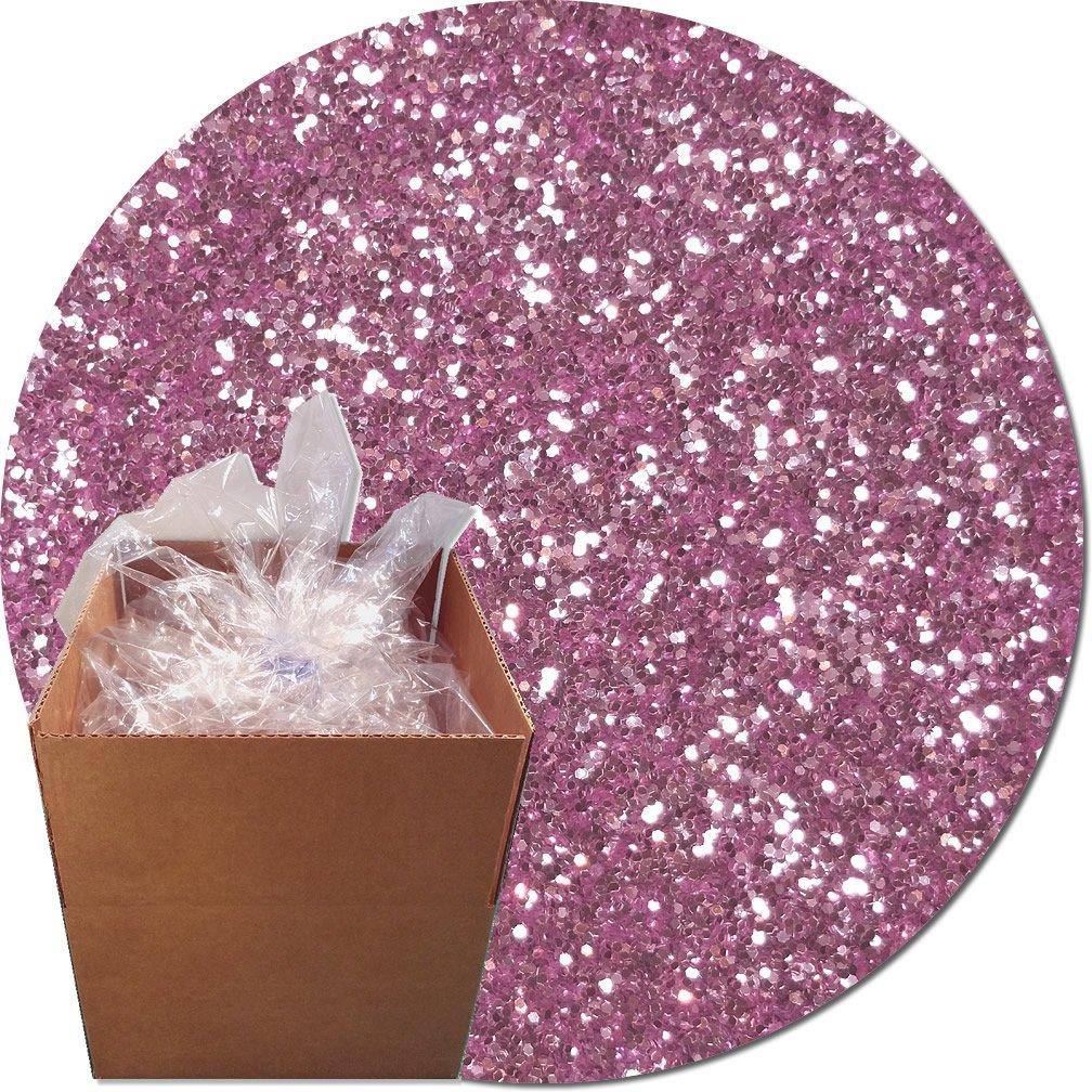 Glitter My World! Craft Glitter: 25lb Box: Lavender Sky
