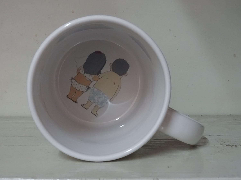 Amazon Com Bottom Mug Hidden Message Secret Message Custom Logo Text Funny Mug Cool Novelty Personalized Mug Coffee Coffe Cup Printing Mug Kitchen Dining