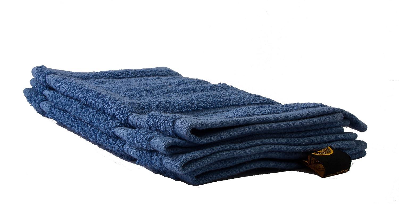 Gözze New York, Essuie main lot de 4, Bleu, 30 x 30 cm, 550-2247-A2