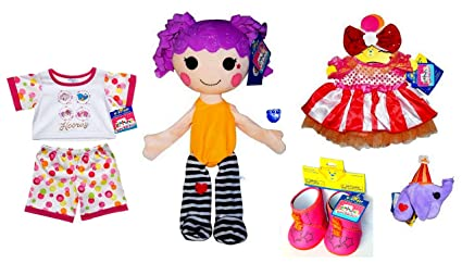 732dad27ac7 Image Unavailable. Image not available for. Color  Build A Bear Peanut Big  Top Lalaloopsy ...