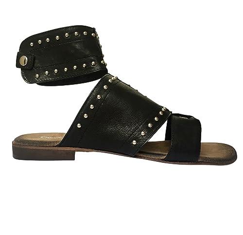 cheap for discount 5e163 cd1a1 Oroscuro - Sandali Donna, (Black Gladiator (18031)), 36 EU ...