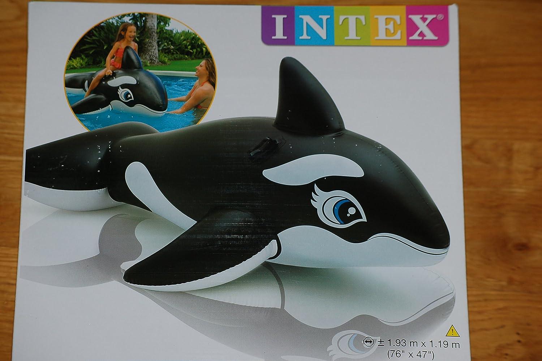 Intex ballena hinchable colchoneta piscina – 58561NP: Amazon.es ...