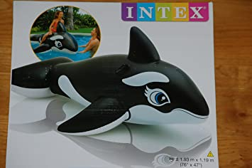 Intex ballena hinchable colchoneta piscina - 58561NP: Amazon ...