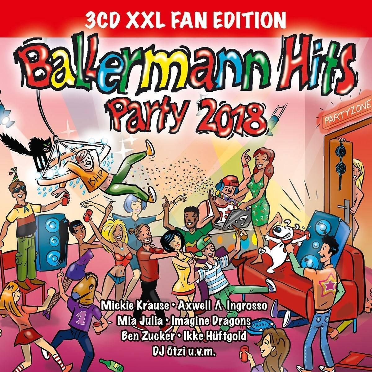 Ballermann Hits Party 2018 (XXL Fan Edition) – Various
