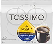 Tassimo Gevalia Dark Italian Roast Coffee Single Serve T-Discs, 12 T-Discs