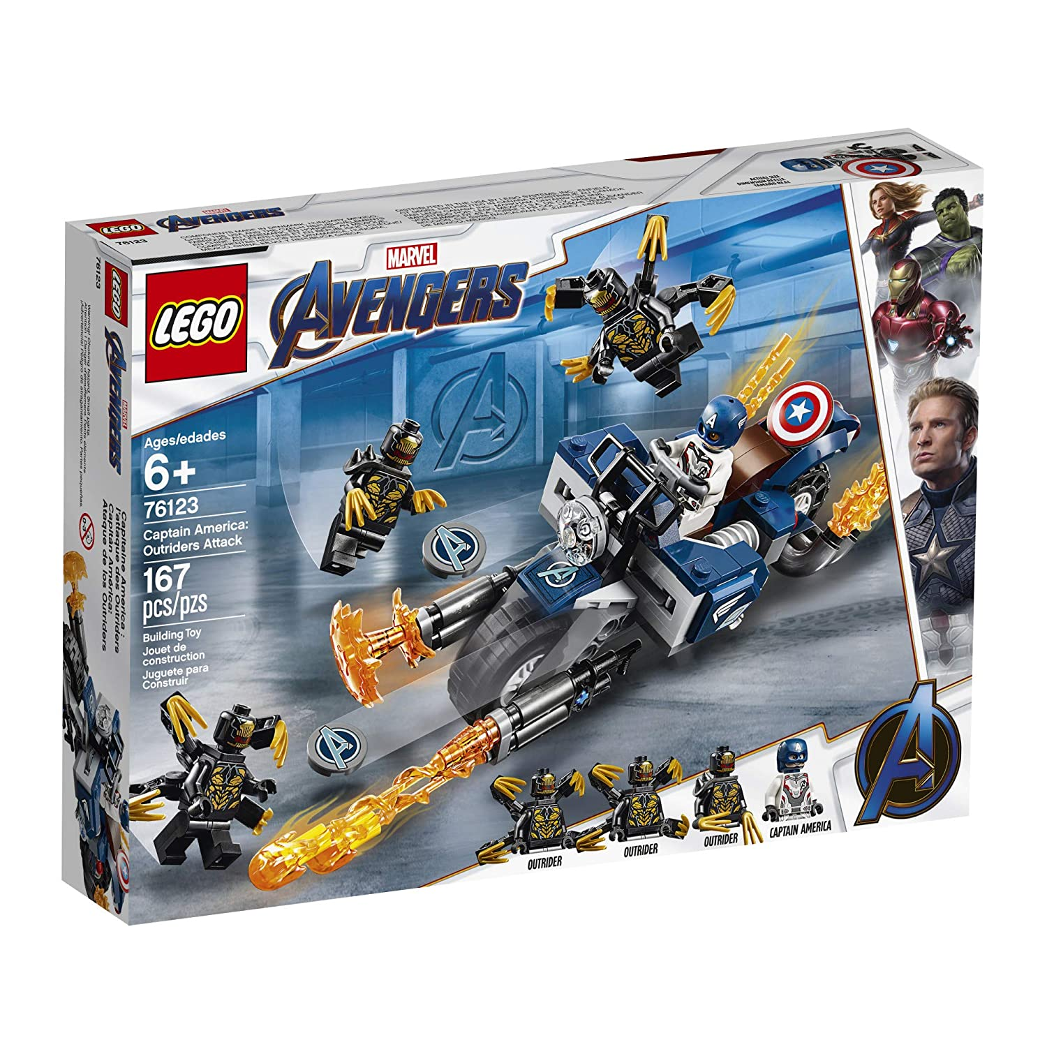 Top 9 Best LEGO Captain America Sets Reviews in 2019 1